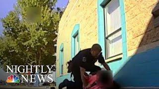 Officer Resigns After Video Captures Him Throwing Special Needs Student To Ground   NBC Nightly News