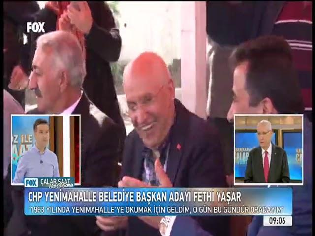 FOX Tv'de 'İlker Karagöz ile Çalar Saat' programına canlı yayın konuğu oldum.