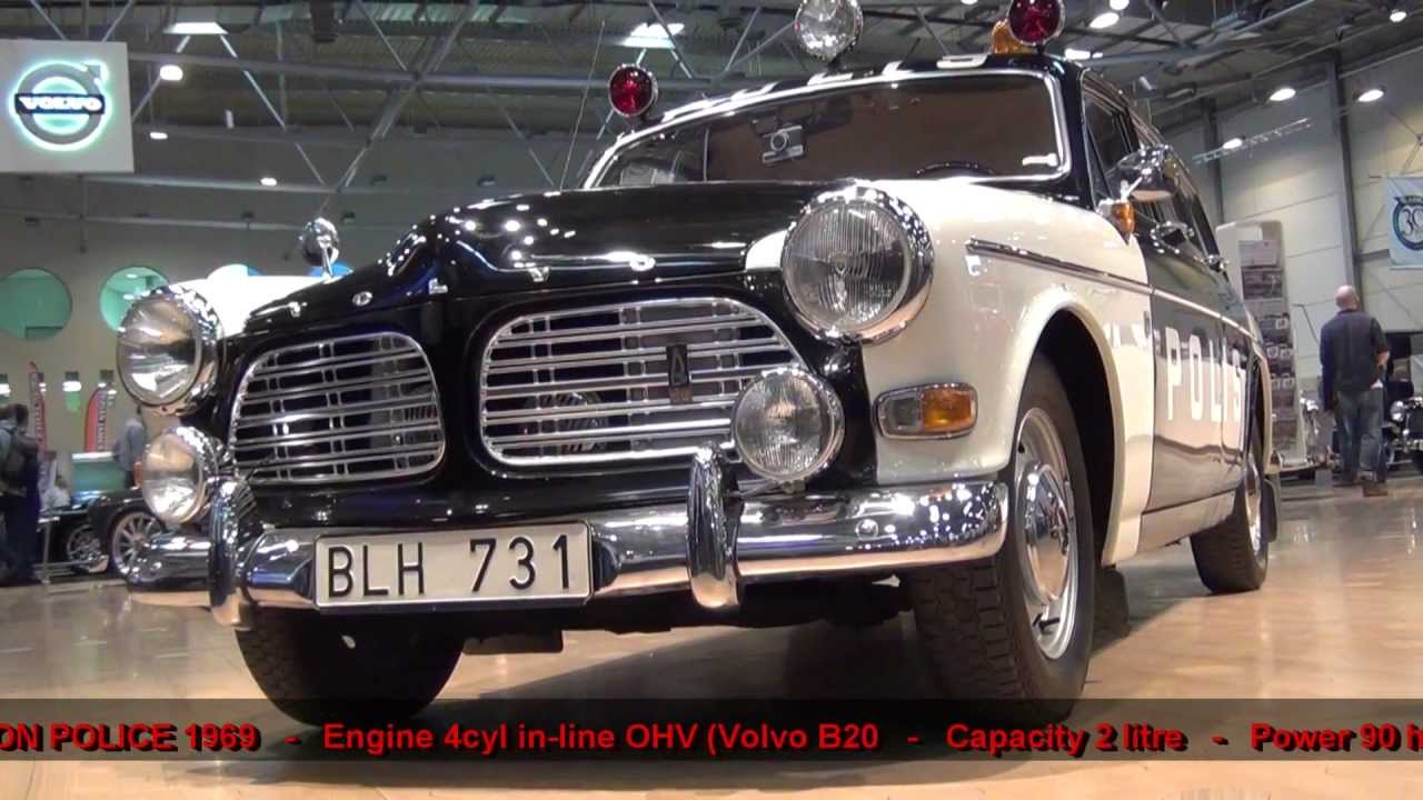 Volvo Amazon Station Wagon Police 1969 - YouTube