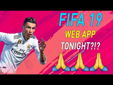FIFA 19 WEB RELEASED UK EARLY HOURS? 😲 BUILDING STARTER SQUADS! 😎