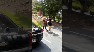 Pussy nigga havirr gets his ass beat up by a senior