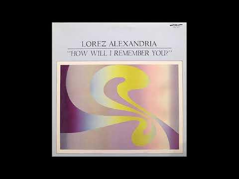 Lorez Alexandria – How Will I Remember You? (1978) [vinyl]