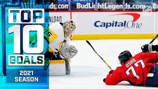 Top 10 Goals Of The 2021 NHL Regular Season