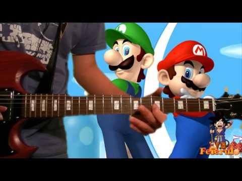 「Theme Song」- Super Mario Bros.【+TABS】by Fefe!