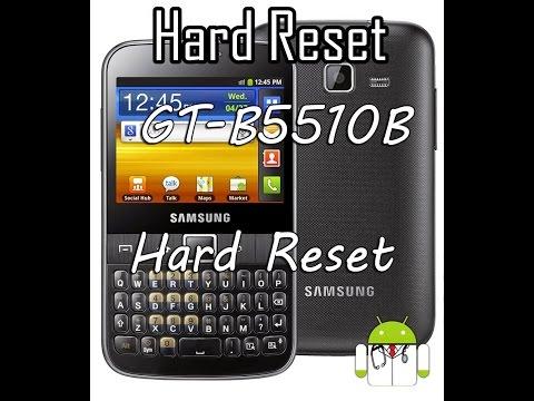 GT-B5510B | Hard Reset | Senha | Galaxy Y Pro | Formatar | Recuperação