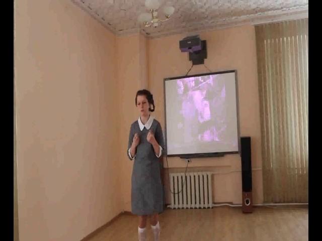 Изображение предпросмотра прочтения – АнастасияТретьякова читает произведение «Если дорог тебе твой дом» К.М.Симонова