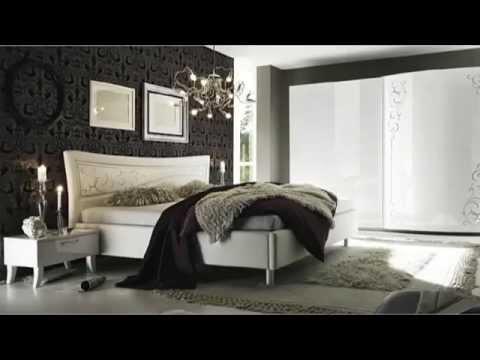 Camere da letto contemporanee bianco lucido ante - Camere da letto romantiche ...