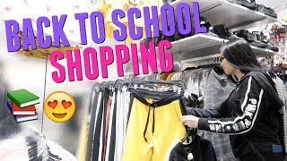 GO BACK TO SCHOOL CLOTHES SHOPPING WITH ME ( VLOG) | Megan Mauk ♡