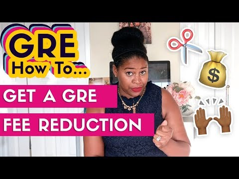GRE Fee Reduction: How To Get A Free GRE Discount Voucher (2019)