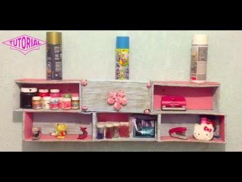 Repisas flotantes de carton decora tu habitacion facil y for Crea tu habitacion online