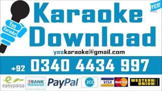 Sawan ki bheegi raton mein - Karaoke - Nusrat Fateh Ali - Pakistani - Yes Karaoke