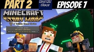 Part 2- Minecraft Story Mode Episode 7 on  Xbox One