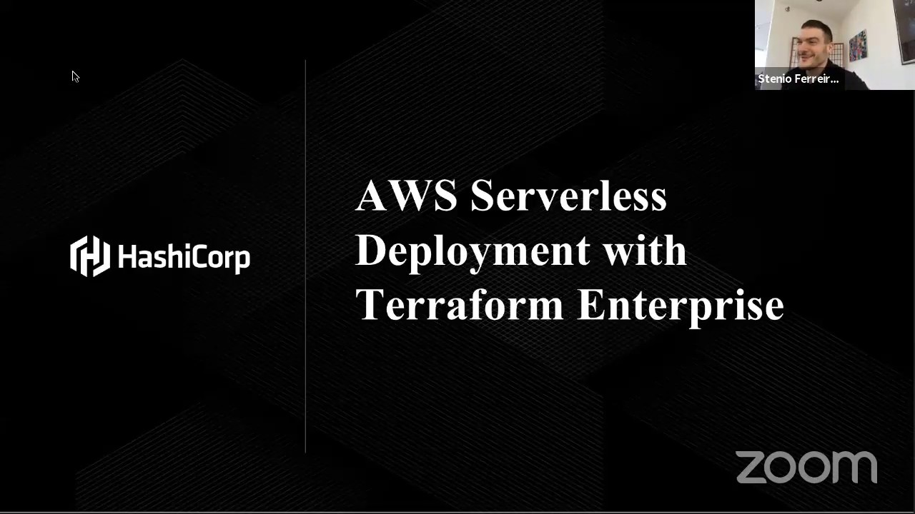 AWS Serverless Deployment with Terraform Enterprise