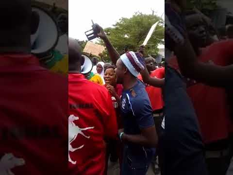 Togolese Protest at ECOWAS, Togo Embassy in Lagos  5