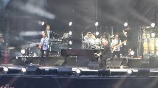 Billy joel live opening with my life old trafford manchester 2018
