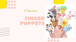 Review Of Finger Puppet Set For kids In Hindi