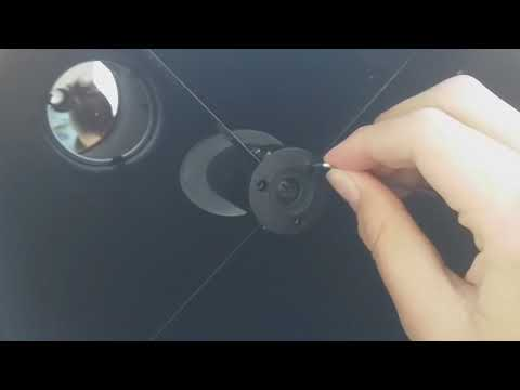 How to Collimate a Newtonian Reflecting telescope. (Using a laser)