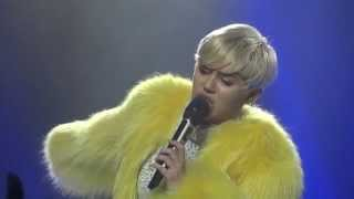 MILEY CYRUS - SOMEONE ELSE - BANGERZ TOUR LIVE IN COLOGNE 2014, GERMANY