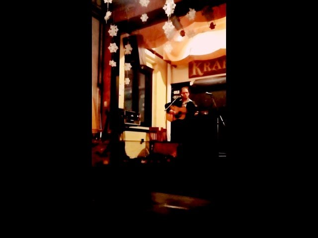 Curtis Lee Putman @Old Dog Tavern Kalamazoo, Michigan.Dropped in for Open Mic. December 2014