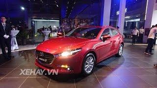 [XEHAY.VN] Chi tiết Mazda3 2017 vừa ra mắt giá từ 690 triệu đồng