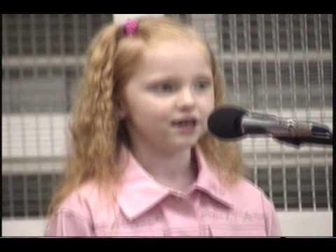 Little girl singing  BLUE Kortney Jean  age 7 LeAnn Rimes