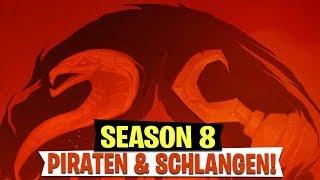 *SEASON 8* Teaser! Piraten & Schlangen Thema? | Fortnite Battle Royale