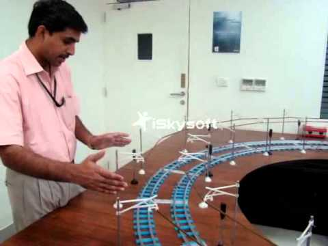 Rail Signalling Working Model - XII