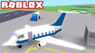 Roblox - BUILDING MY AIRPORT!! -RO-Port Tycoon 🎮