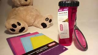 Обзор: бутылка для воды и корма для собак от DEXAS