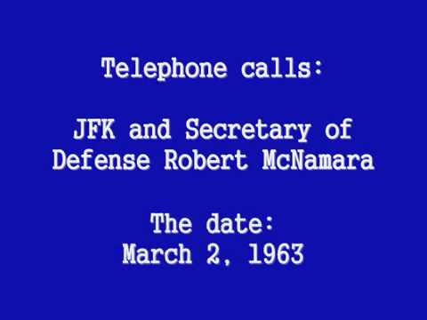 PHONE CALLS: JFK & ROBERT McNAMARA (MARCH 2, 1963)