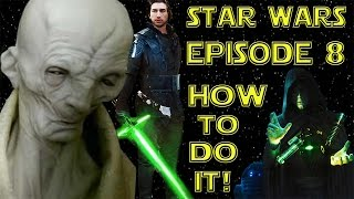 Star Wars Episode 8 - How to do it!(What will Star Wars Episode 8 be about? Lets take a look at 3 different pitches of how the trilogy could unfold, to give us our Star Wars fix, until the actual movie ..., 2015-12-31T01:11:08.000Z)