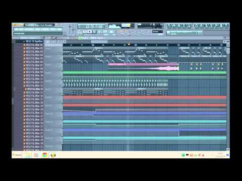 Calvin Harris Ft. Tinashe - Dollar Signs [FL Studio Remake]
