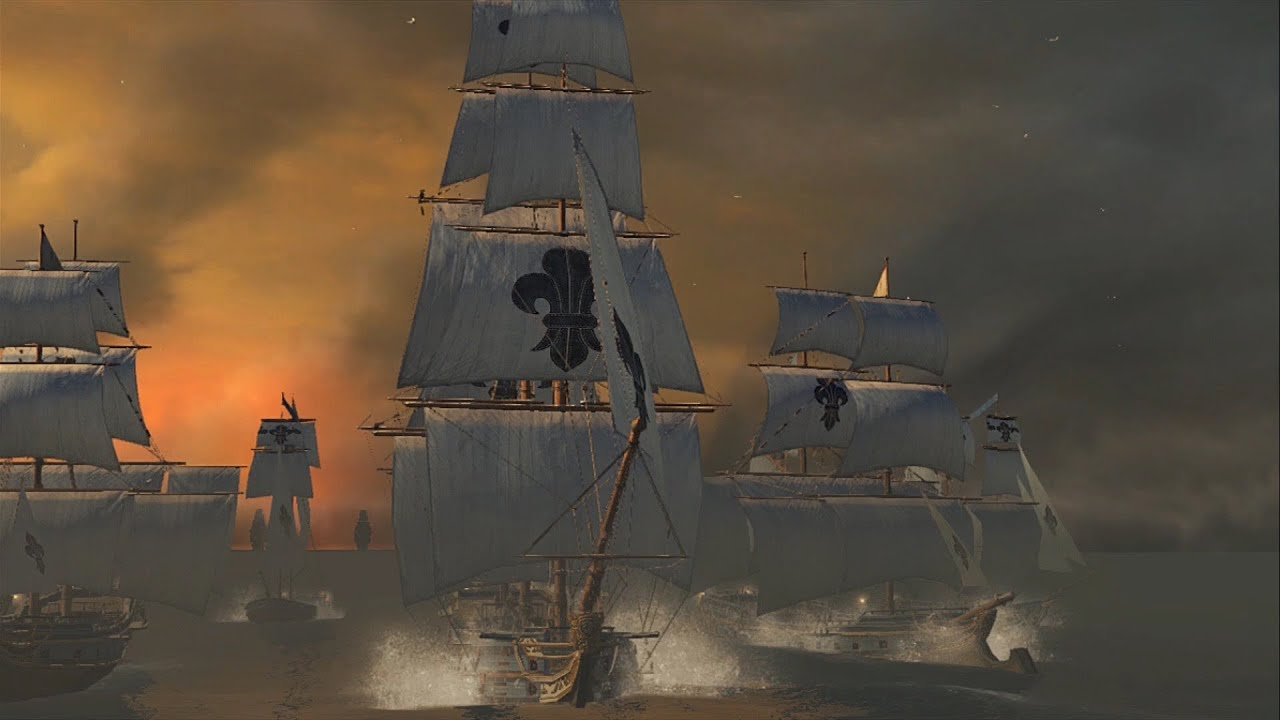 Assassin S Creed Rogue Legendary Ship Battle The Storm Fortress