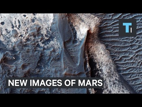 NASA released hundreds of stunning new images of Mars