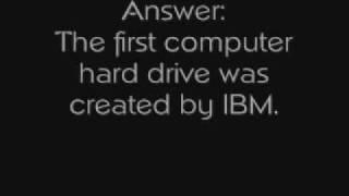 Computer History: Who Created The Computer Hard Drive?