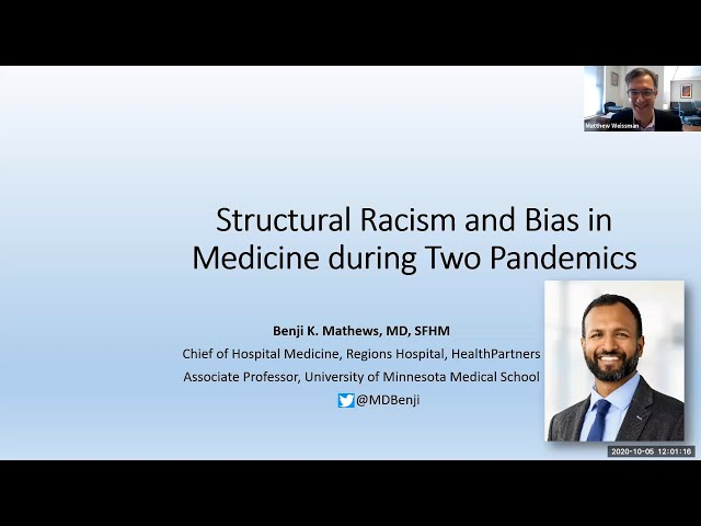 Structural Racism and Bias in Medicine During Two Pandemics