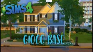 THE SIMS 4: CASA SOLO CON GIOCO BASE? - BASE GAME | SPEED BUILD