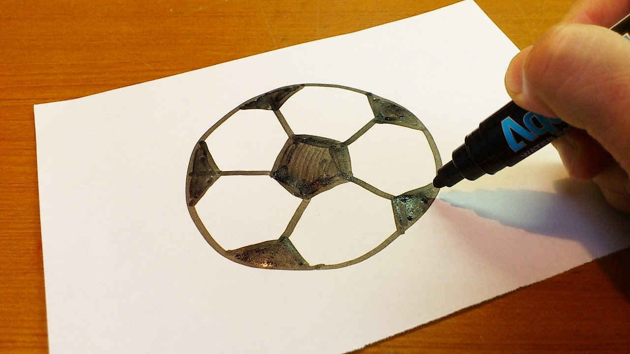 Very Easy How To Draw A Soccer Ball Art For Kids Hub Art Fo Art