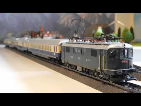 SBB Rheingold TEE express (Marklin 26604)