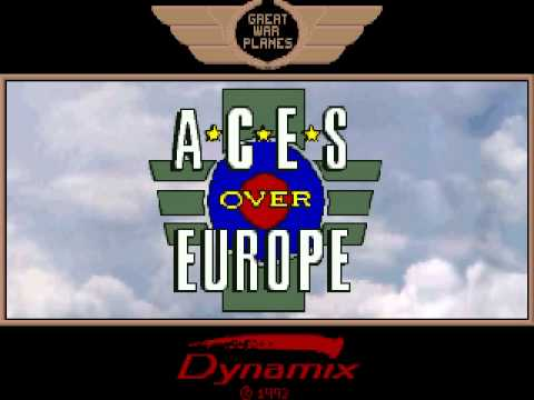 Aces Over Europe (1993) - Intro Cinematic