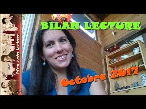 BIlan lecture octobre 2017 - Que du bon!