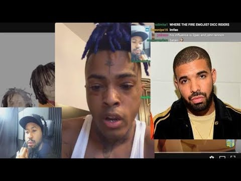 XxxTentacion Reveals the Truth behind why he went at Drake