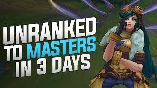 TF Blade - Unranked To Masters In 3 Days! (Solo Carrying!)