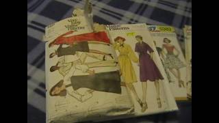 Thrift Finds: Vintage Sewing Patterns