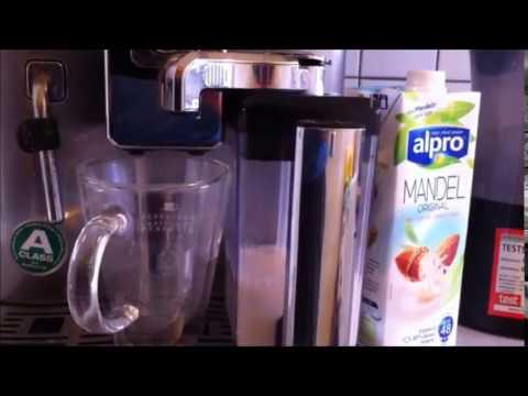 vegan latte macchiato mit mandelmilch youtube. Black Bedroom Furniture Sets. Home Design Ideas