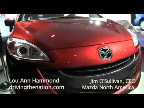 James O'Sullivan, President, Mazda on skyactiv and the Mazda CX-5 on Driving the Nation