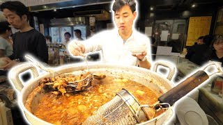 Japanese Street Food Tour DEEP in Tokyo, Japan! TASTY Japanese BBQ + Pork Gyoza and AMAZING Sushi! thumbnail