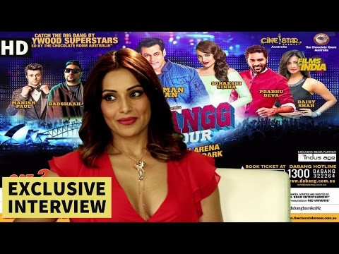 Bipasha Basu | Dabang Tour | Exclusive Interview
