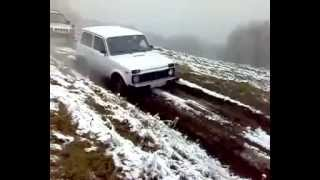 Niva Off Road , Niva Power In Mud