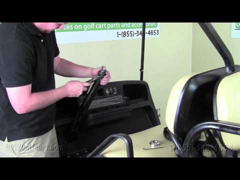 EZGO Steering Column How To Install Video Installing Golf Cart